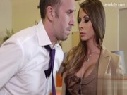 Really licentious big-breasted sweetie Madison Ivy likes flirting with horny young machos