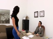 Super sizzling babe Jayden Jaymes comes to be doing with her potential boss and gets a job