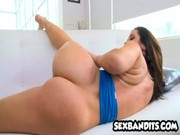 Good sex and boob-bouncing is solution of all hardships for Jayden James at home. Hustler!