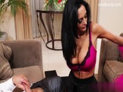 Ava Addams is super popular slut tonight, and that's why this budyy is booing her chocha!