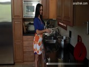 A daughtie comes to mom Ava Addams with her boy, and they arrange first-class hot pounding