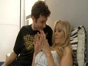Julia Ann is a special bim, playing with her Casanova and bouncing high upon his Casanova!