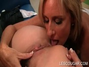 Starving older age whore Jodi West licks off vagina of attractive Jodi West who is older)