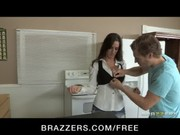 A flirting with brunette teacher Kortney Kane in class finished in screwing with student )