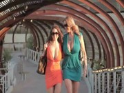 Eva Notty and her younger girlfriend come to a man, making pretty hot threesome with him))
