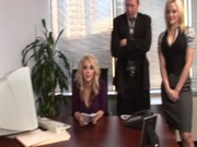 Ashlynn Brooke and Alexis Texas are two voluptious sexetaries who do it together with boss