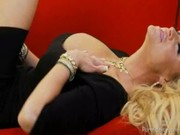Nasty ample-breasted star Kelly Madison & some brunette are intriguing with horny gangster