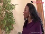 That's a nice ebony-skinned Nyomi Banxxx, entertaining with white gentleman! Hot hustlers!