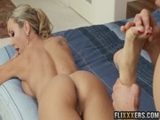 Amazing massage, done to MILF Brandi Love, guarantees super sizzling screwing and not only