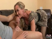 This scorching and sexually attractive blonde Brandi Love is loving the dick of her bimbo