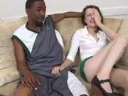 Lexi Belle couldn't even think about having sex with black student today, but it came true