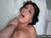 Just lying under her lezzo hardcore partner and getting humped by her all the way long!