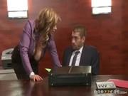 What am I supposed to be doing for my strict boss? Sucking his thing and riding upon that