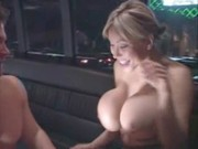 Ava Devine consents to ride on limo, and that comes to be cool for her pussy and asshole!