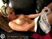 Kayden Kross decides to be pleasing herself when her employers are out! Sexy crazy hustler