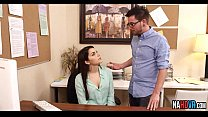When in the office, Valentina Nappi understands all her boss wants about her body! Lovely!
