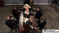 She is a crown of this porn office, and she rules all the guys who are present here! Cool!