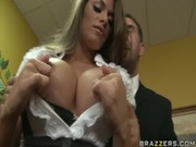 Awesome bitch Madelyn Marie prepares to have it going with CEO of her business compny now!