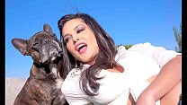 Sunny Leone decided to make filthy selfies in this porn cumpilation! What a sultry hustler